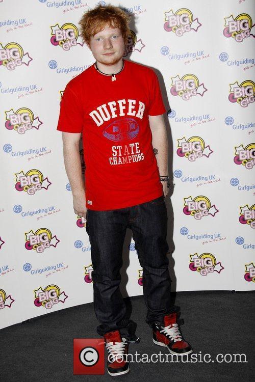 Ed Sheeran and Wembley Arena 2