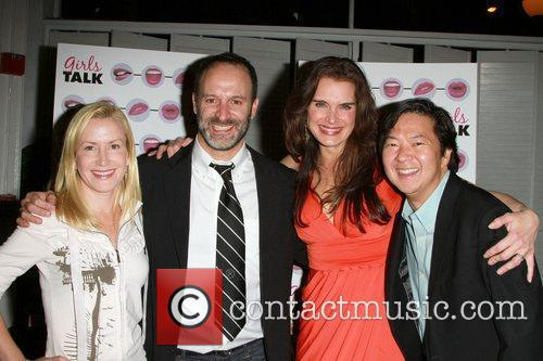 Angela Kinsey, Ken Jeong and Roger Kumble