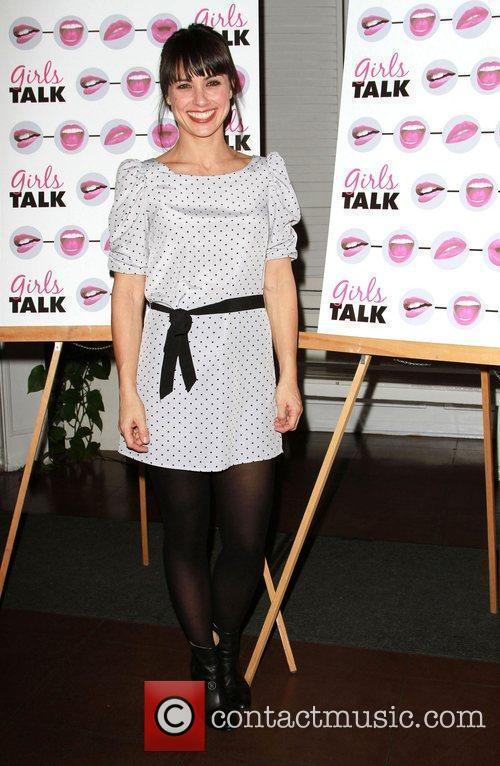 Constance Zimmer The opening night of 'Girls Talk'...
