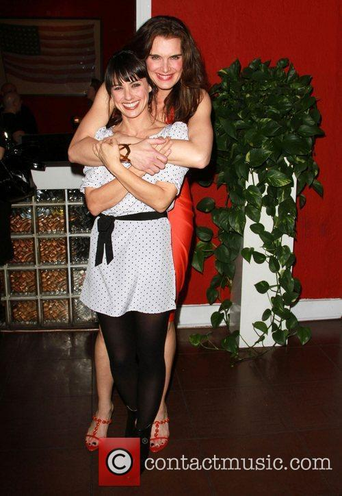 Constance Zimmer and Brooke Shieldss The opening night...