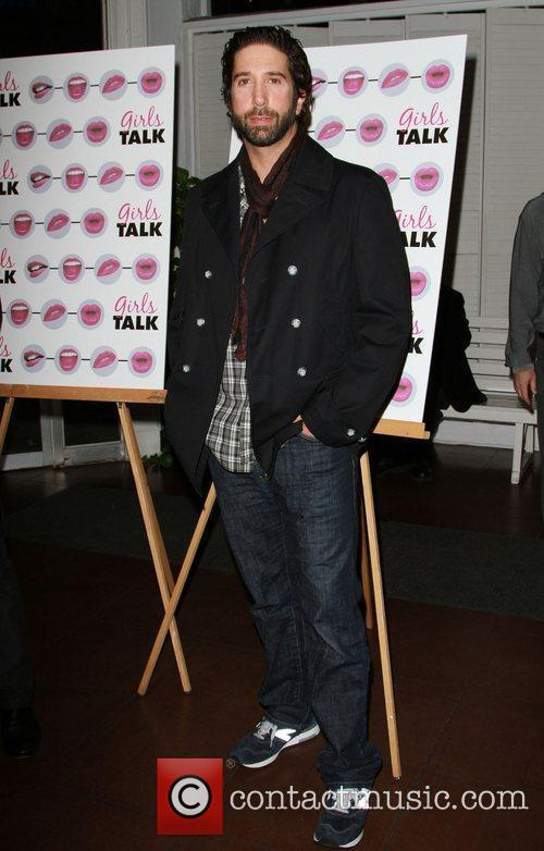 David Schwimmer The opening night of 'Girls Talk'...