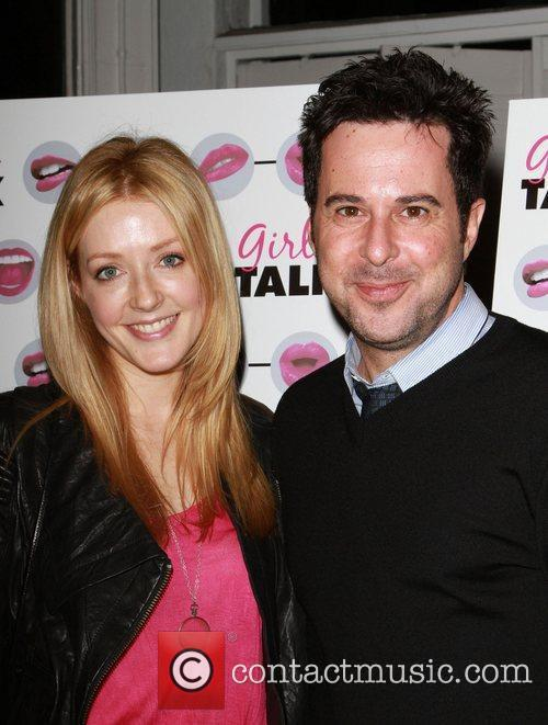 Jennifer Finnigan and Jonathan Silverman The opening night...
