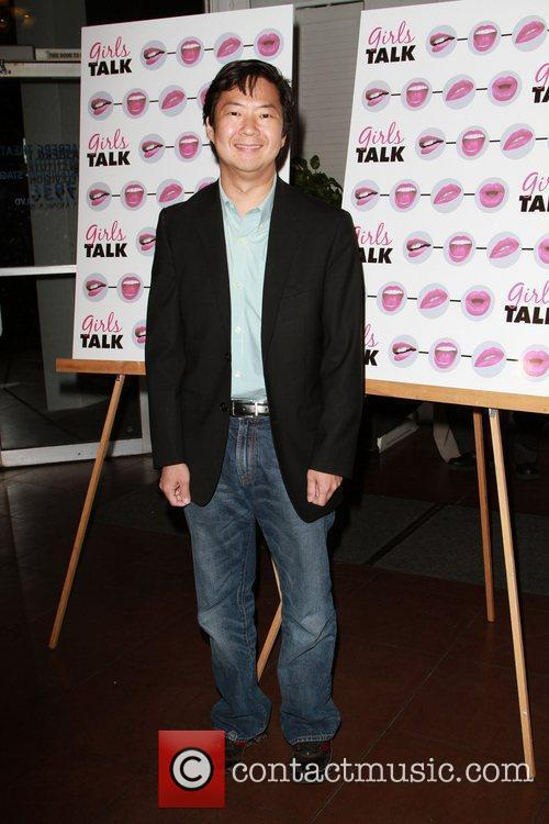 Ken Jeong The opening night of 'Girls Talk'...
