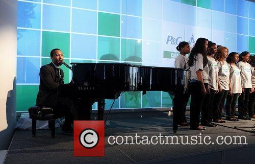 John Legend and SASF Champions Club Chorus...