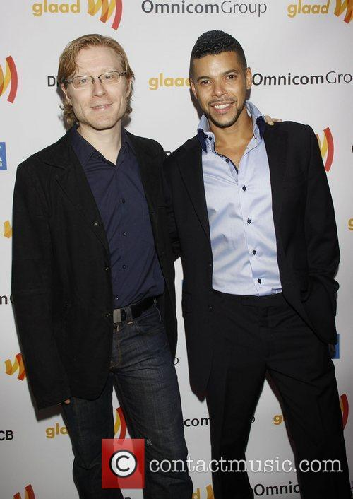 Anthony Rapp and Wilson Cruz The 2011 GLAAD...