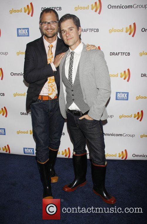 Brent Ridge and Josh Kilmer-Purcell The 2011 GLAAD...