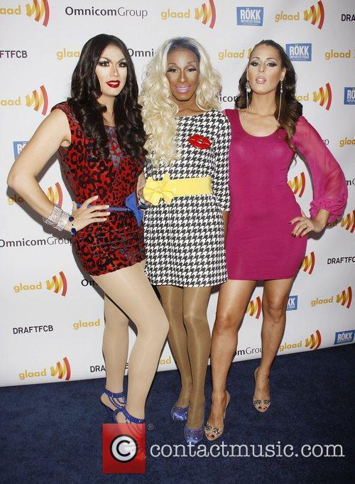 Manila Luzon, BeBe Zahara Benet and Carmen Carrera...