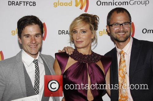 Josh Kilmer-Purcell, Sonja Morgan and Brent Ridge...