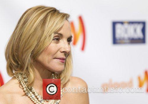Kim Cattrall 22nd Annual GLAAD Media Awards at...