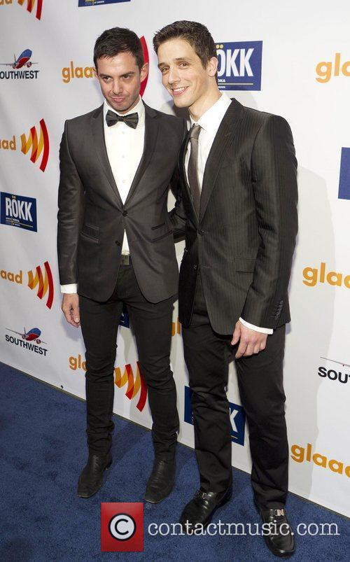 Luke Naro, Yigit Pura 22nd Annual GLAAD Media...