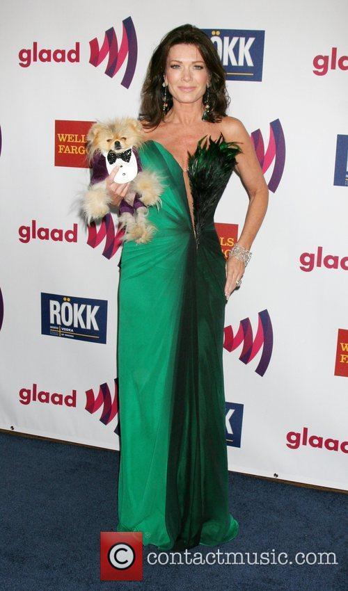 Lisa Vanderpump and her dog Giggy  22nd...