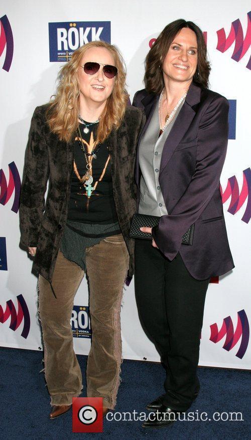 Melissa Ethridge, Linda Wallem 22nd Annual GLAAD Media...
