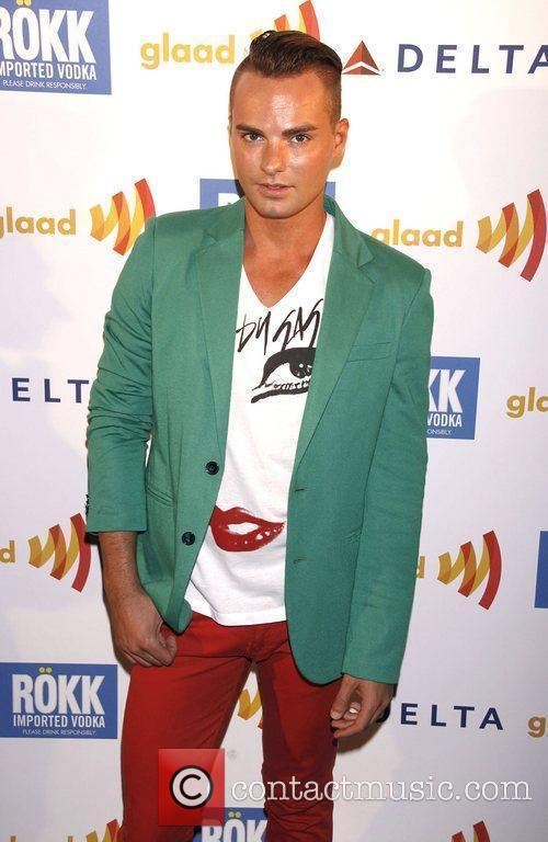 Derek Saathoff 'GLAAD Manhattan' Carnival event held at...