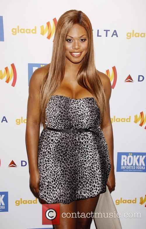 Laverne Cox 'GLAAD Manhattan' Carnival event held at...