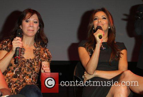Cheri Oteri and Eva Longoria 9