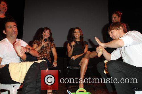 Cheri Oteri, Eva Longoria and Ken Paves 4