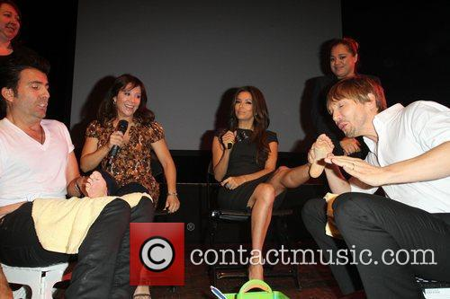 Cheri Oteri, Eva Longoria and Ken Paves 5