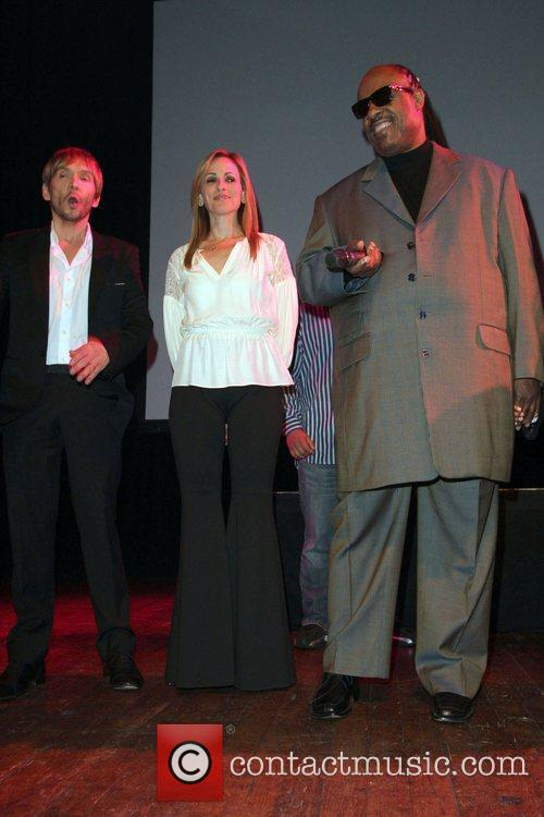 Ken Paves, Marlee Matlin, Stevie Wonder and House Of Blues 3