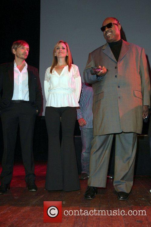 Ken Paves, Marlee Matlin, Stevie Wonder and House Of Blues 1
