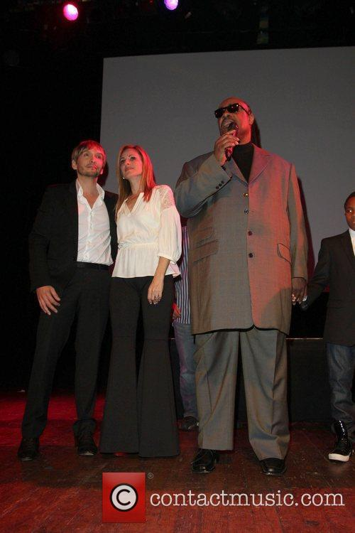 Ken Paves, Marlee Matlin, Stevie Wonder and House Of Blues 2