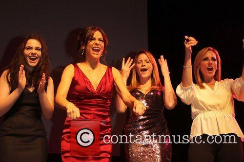 Vanessa Marano, Constance Marie, Katie Leclerc and Marlee...