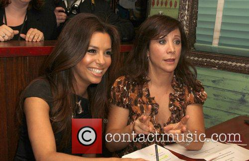Eva Longoria and Cheri Oteri