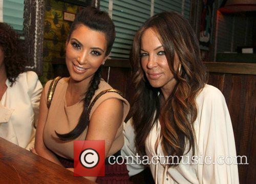 Kim Kardashian, Robin Antin and House Of Blues 1