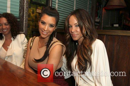 Kim Kardashian, Robin Antin and House Of Blues 2