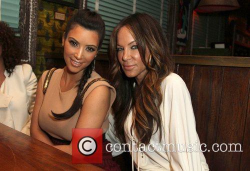 Kim Kardashian, Robin Antin and House Of Blues 4