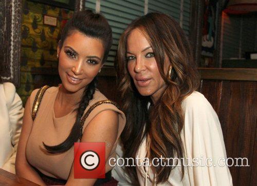 Kim Kardashian, Robin Antin and House Of Blues 3