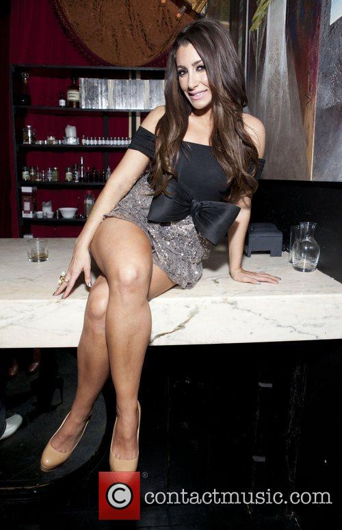 Jessica Romano Celebrities attend a party to celebrate...