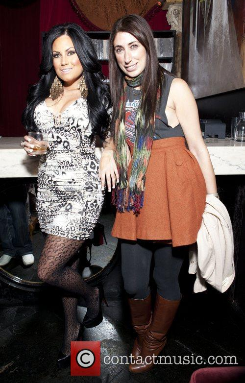 Krystle Couso and Lauren Rae Levy Celebrities attend...