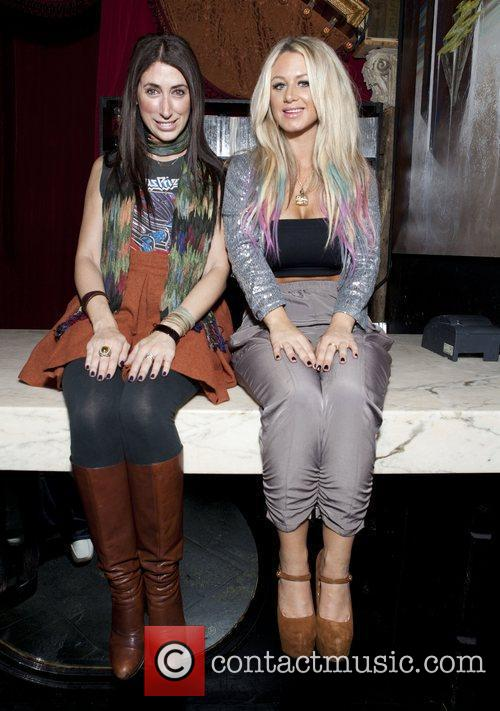 Lauren Rae Levy and Briella Celebrities attend a...