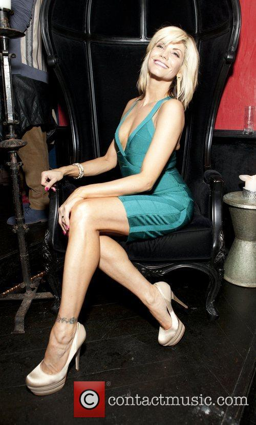 Sharie Manon Celebrities attend a party to celebrate...