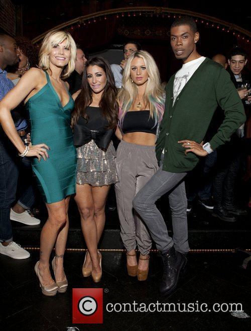 Sharie Manon, Jessica Romano, Briella and Glamo Celebrities...