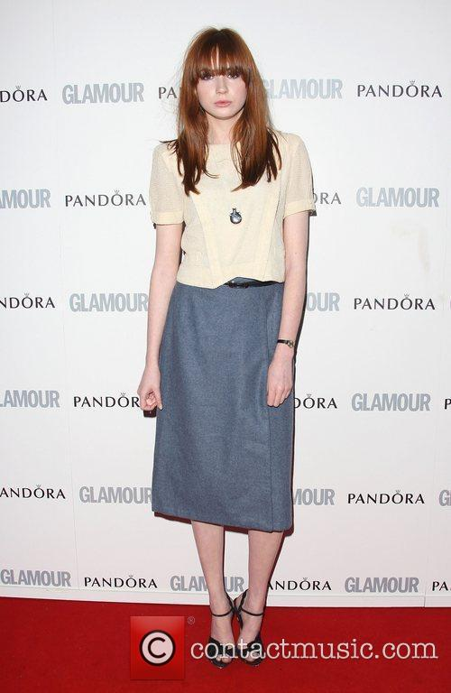 Karen Gillan The Glamour Women of the Year...