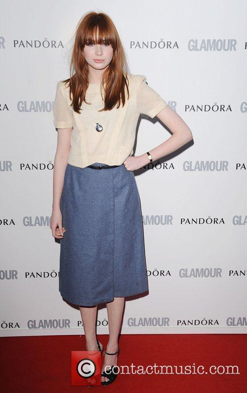 Karen Gillan at the Glamour Women Of The...
