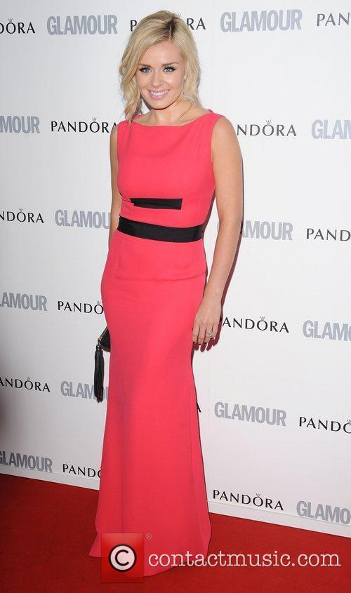 Katherine Jenkins at the Glamour Women Of The...