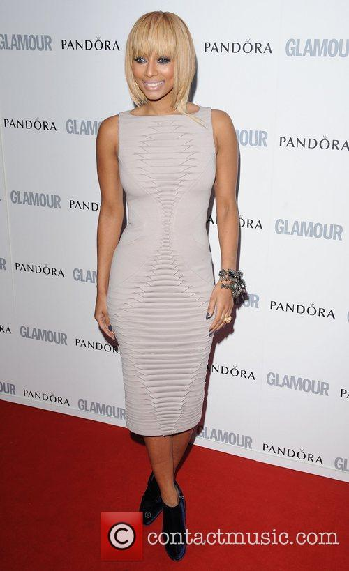 Keri Hilson at the Glamour Women Of The...