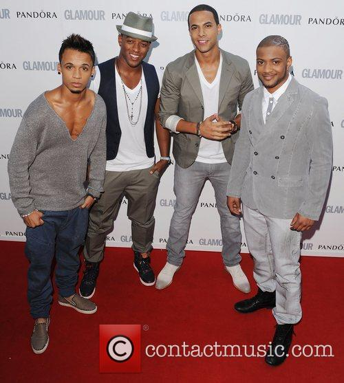 JLS at the Glamour Women Of The Year...
