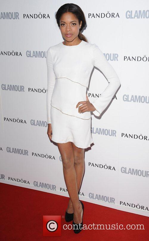 Naomie Harris at the Glamour Women Of The...