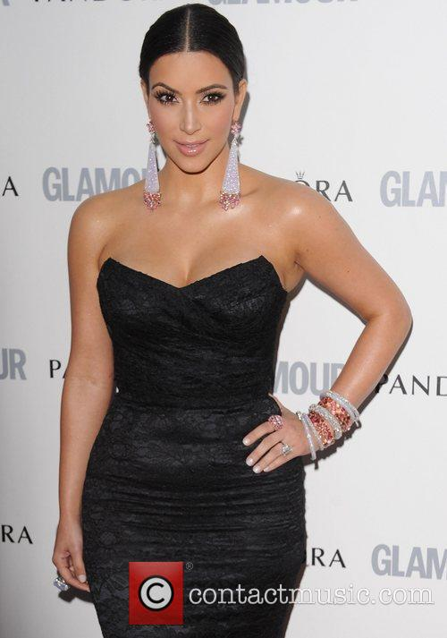 Kim Kardashian and Glamour Women Of The Year Awards 11