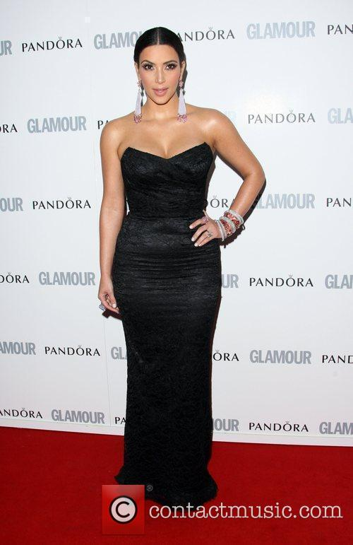 Kim Kardashian and Glamour Women Of The Year Awards 2