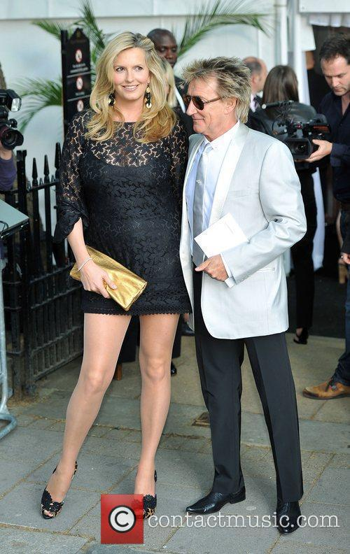 Rod Stewart and Penny Lancaster Glamour Women Of...