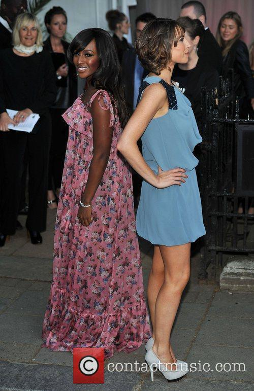 Alexandra Burke and Alex Jones 2