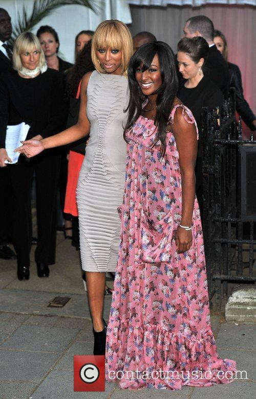 Keri Hilson, Alexandra Burke and Berkeley Square Gardens 5