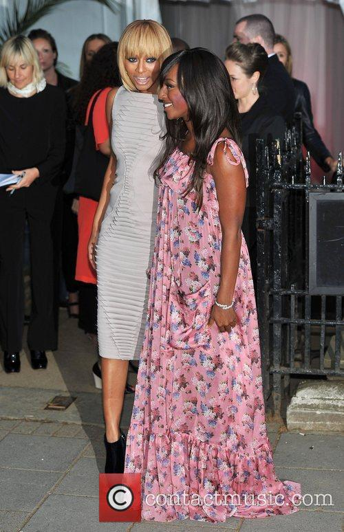Keri Hilson and Alexandra Burke Glamour Women Of...