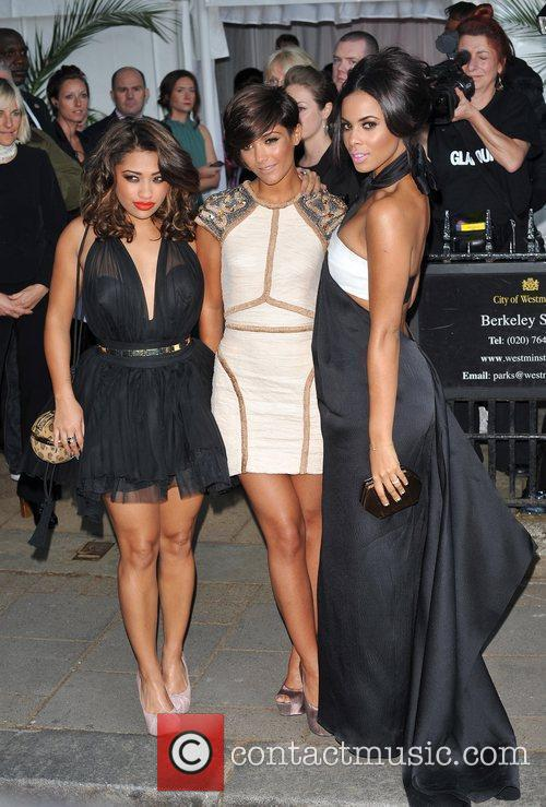 The Saturdays Glamour Women Of The Year Awards...