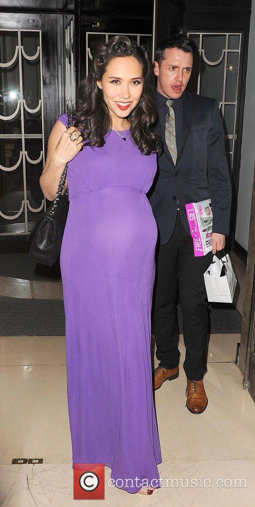 Myleene Klass at the Glamour 10th Birthday Dinner...