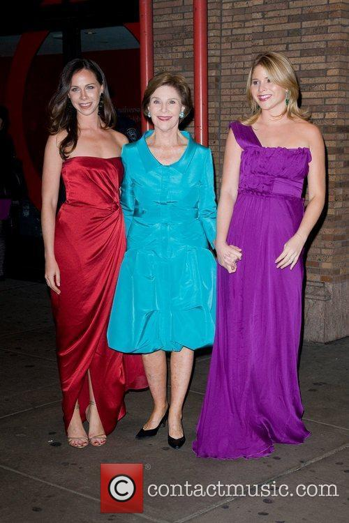 Laura Bush, Jenna Bush and Glamour Women Of The Year Awards 1
